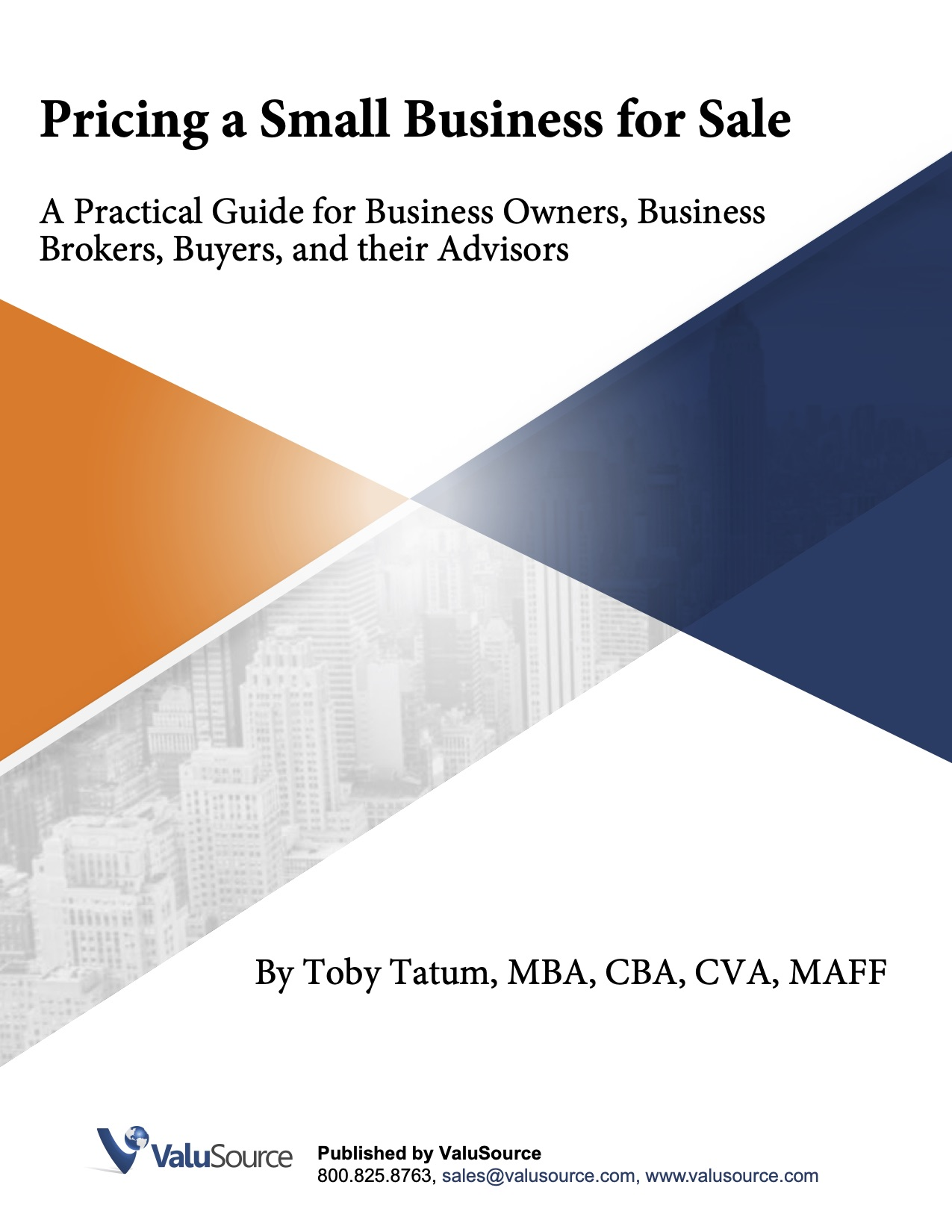 NEW Pricing a Small Business Cover Nov 2020